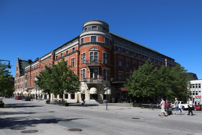Storgatan i Luleå