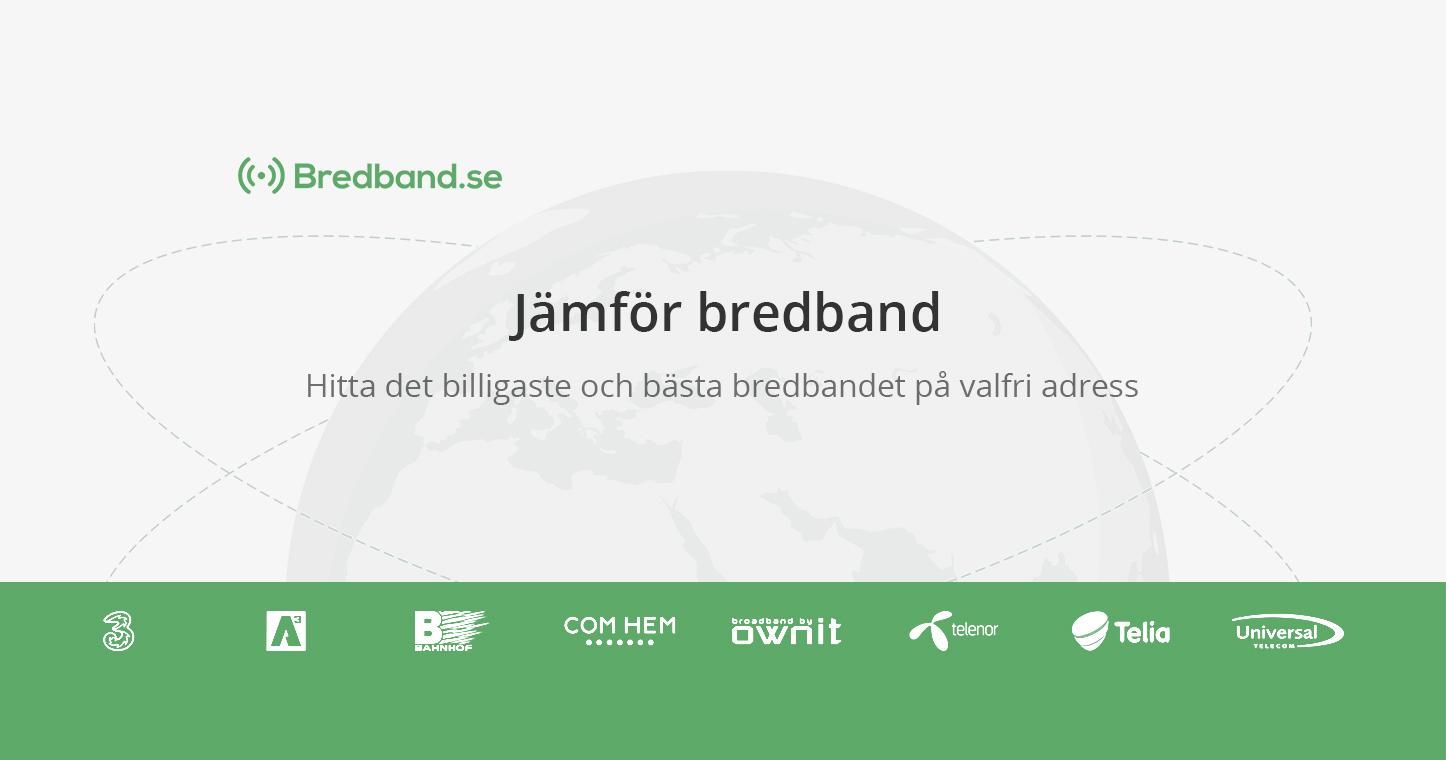 skaffa internet hemma