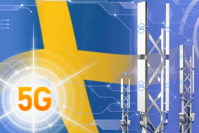 5g-master mot svensk flagga